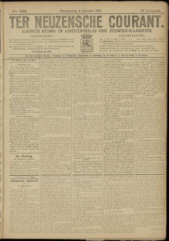 Ter Neuzensche Courant. Algemeen Nieuws- en Advertentieblad voor Zeeuwsch-Vlaanderen / Neuzensche Courant ... (idem) / (Algemeen) nieuws en advertentieblad voor Zeeuwsch-Vlaanderen 1916-01-06