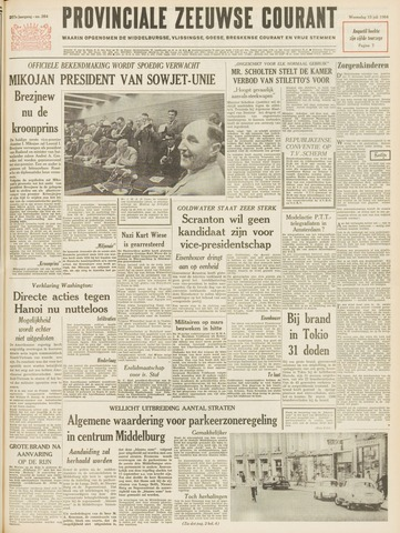 Provinciale Zeeuwse Courant 1964-07-15