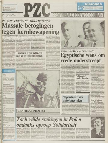 Provinciale Zeeuwse Courant 1981-10-26