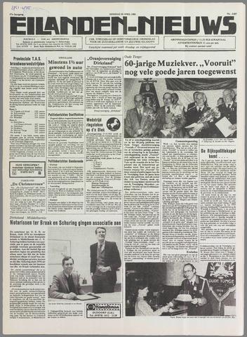 Eilanden-nieuws. Christelijk streekblad op gereformeerde grondslag 1985-04-16
