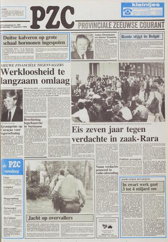 Provinciale Zeeuwse Courant 1988-08-11