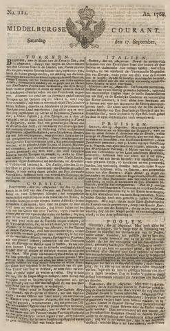 Middelburgsche Courant 1768-09-17