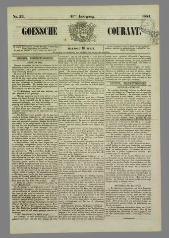 Goessche Courant 1854-07-10