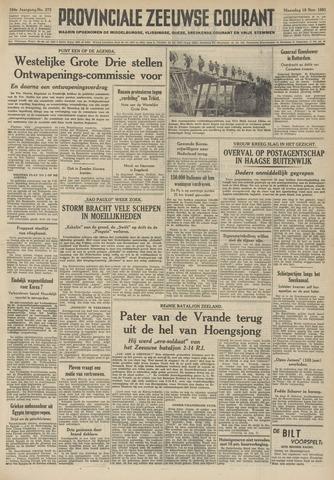 Provinciale Zeeuwse Courant 1951-11-19