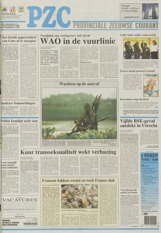 Provinciale Zeeuwse Courant 1999-01-08