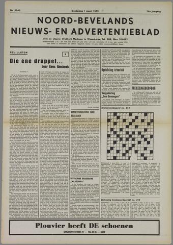 Noord-Bevelands Nieuws- en advertentieblad 1973-03-01