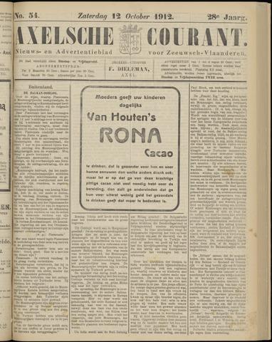 Axelsche Courant 1912-10-12