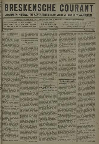 Breskensche Courant 1920