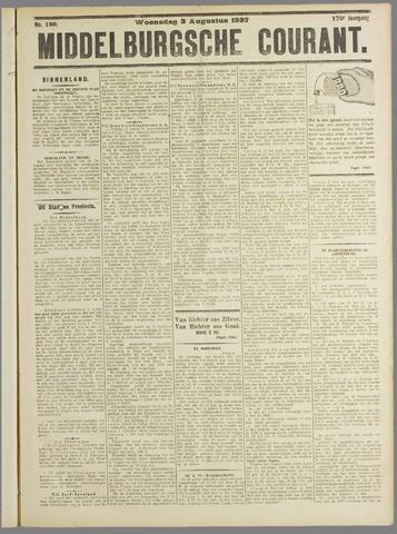 Middelburgsche Courant 1927-08-03