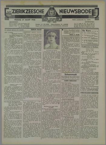 Zierikzeesche Nieuwsbode 1936-03-27