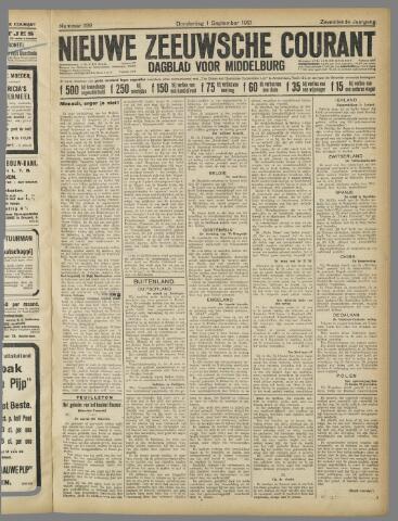 Nieuwe Zeeuwsche Courant 1921-09-01