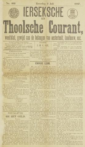 Ierseksche en Thoolsche Courant 1887-07-02