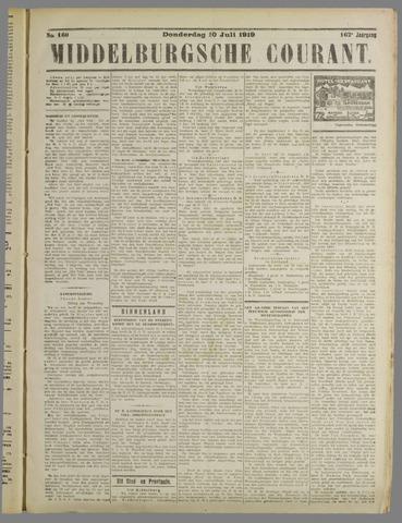 Middelburgsche Courant 1919-07-10