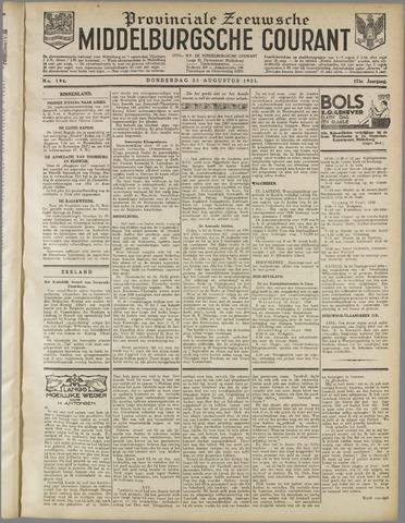 Middelburgsche Courant 1930-08-21