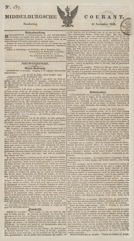 Middelburgsche Courant 1832-11-15