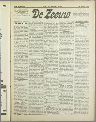 De Zeeuw. Christelijk-historisch nieuwsblad voor Zeeland 1934-01-16