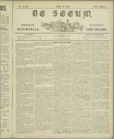 De Zeeuw. Christelijk-historisch nieuwsblad voor Zeeland 1896-04-28