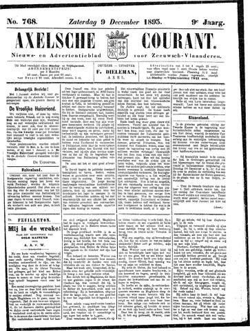 Axelsche Courant 1893-12-09