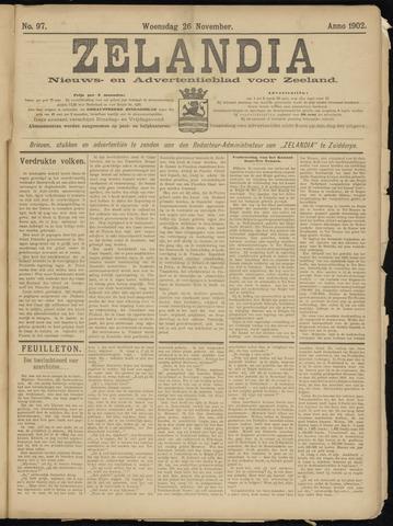 Zelandia. Nieuws-en advertentieblad voor Zeeland | edities: Het Land van Hulst en De Vier Ambachten 1902-11-26