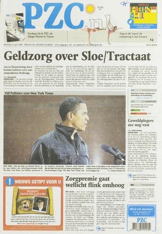 Provinciale Zeeuwse Courant 2009-04-21