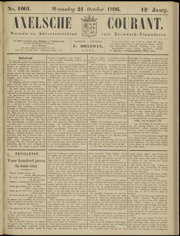 Axelsche Courant 1896-10-21