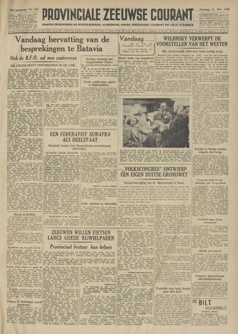 Provinciale Zeeuwse Courant 1949-05-31
