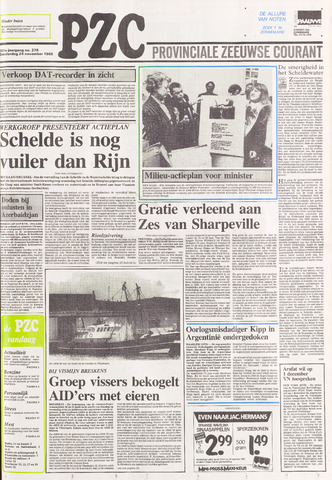 Provinciale Zeeuwse Courant 1988-11-24