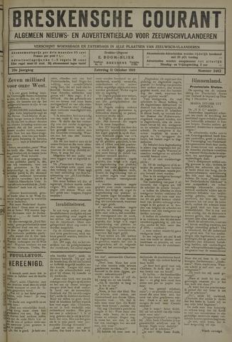 Breskensche Courant 1919-10-11