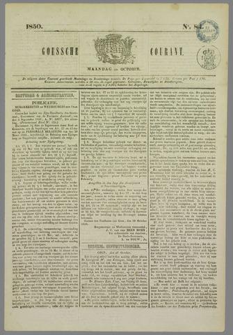 Goessche Courant 1850-10-20