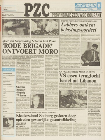 Provinciale Zeeuwse Courant 1978-03-17