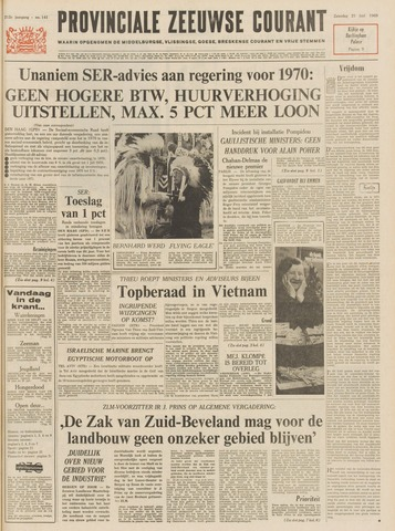 Provinciale Zeeuwse Courant 1969-06-21