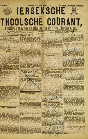 Ierseksche en Thoolsche Courant 1910-06-25