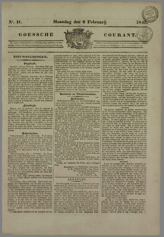 Goessche Courant 1843-02-06