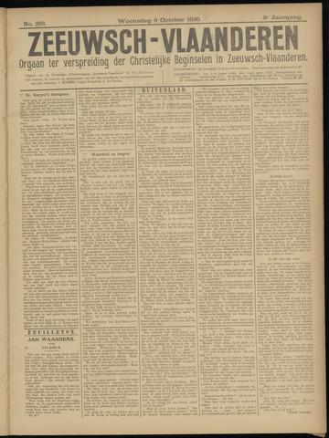 Luctor et Emergo. Antirevolutionair nieuws- en advertentieblad voor Zeeland / Zeeuwsch-Vlaanderen. Orgaan ter verspreiding van de christelijke beginselen in Zeeuwsch-Vlaanderen 1920-10-06