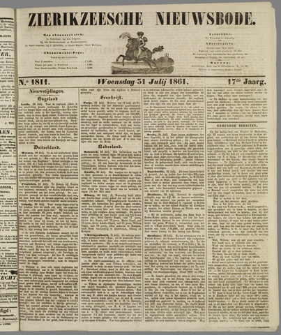 Zierikzeesche Nieuwsbode 1861-07-31
