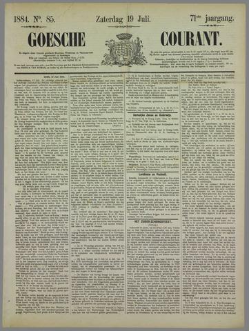 Goessche Courant 1884-07-19