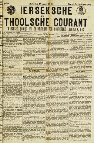 Ierseksche en Thoolsche Courant 1915-04-17