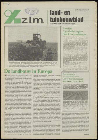 Zeeuwsch landbouwblad ... ZLM land- en tuinbouwblad 1981-10-23