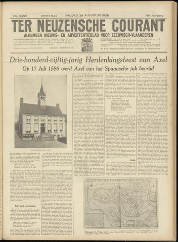 Ter Neuzensche Courant. Algemeen Nieuws- en Advertentieblad voor Zeeuwsch-Vlaanderen / Neuzensche Courant ... (idem) / (Algemeen) nieuws en advertentieblad voor Zeeuwsch-Vlaanderen 1936-08-28