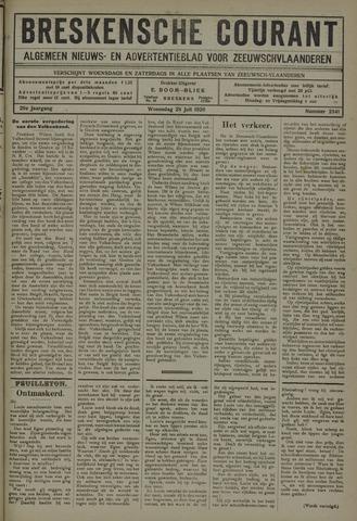 Breskensche Courant 1920-07-28