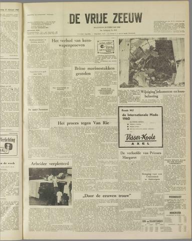 de Vrije Zeeuw 1960-02-29