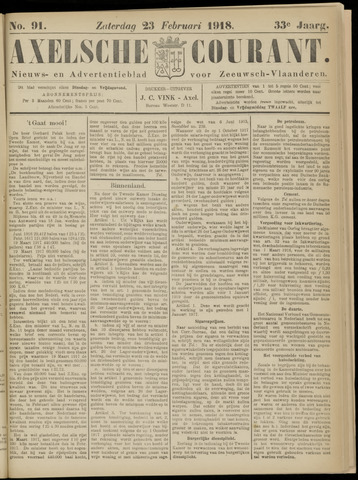 Axelsche Courant 1918-02-23