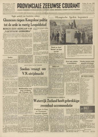 Provinciale Zeeuwse Courant 1960-08-26