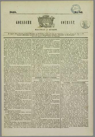 Goessche Courant 1850-10-28