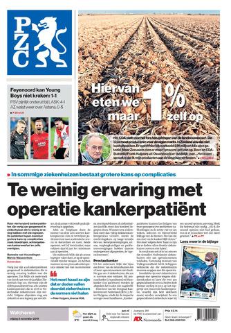 Provinciale Zeeuwse Courant 2019-11-08