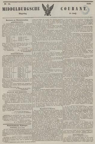 Middelburgsche Courant 1850-06-18