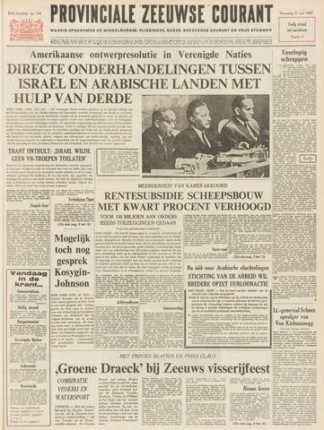 Provinciale Zeeuwse Courant 1967-06-21