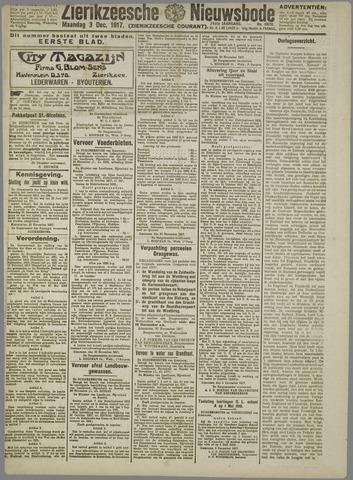 Zierikzeesche Nieuwsbode 1917-12-03