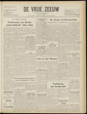 de Vrije Zeeuw 1954-02-25