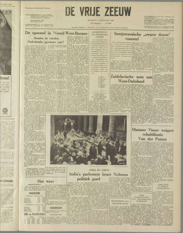 de Vrije Zeeuw 1962-12-11